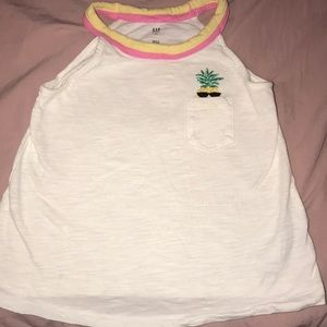Gap pineapple tank top